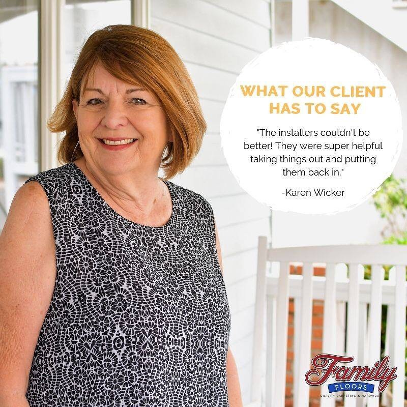 Testimonials | Family Floors