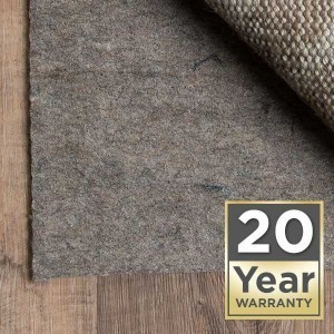 20 year rug pad warranty
