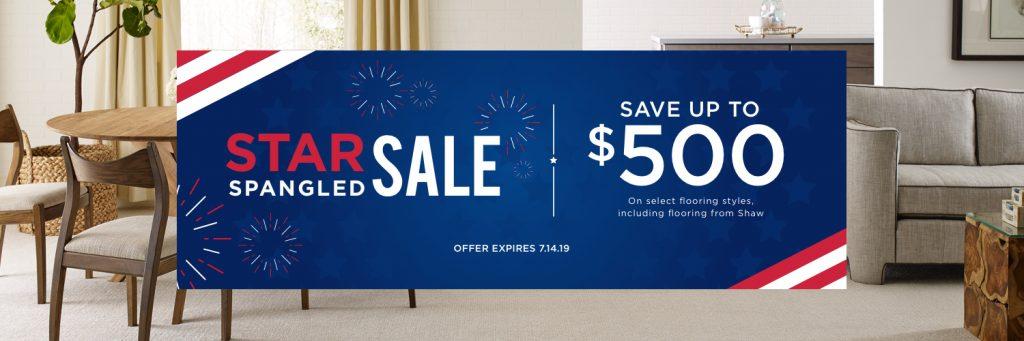 Star Spangled Banner Sale | familyfloorslb