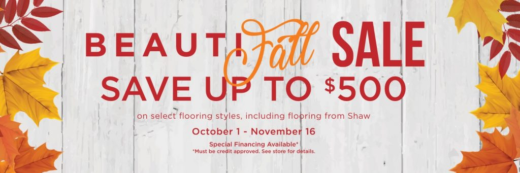 BeautiFALL Sale | Family Floors