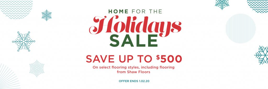 Home for the Holidays Sale | Family Floors