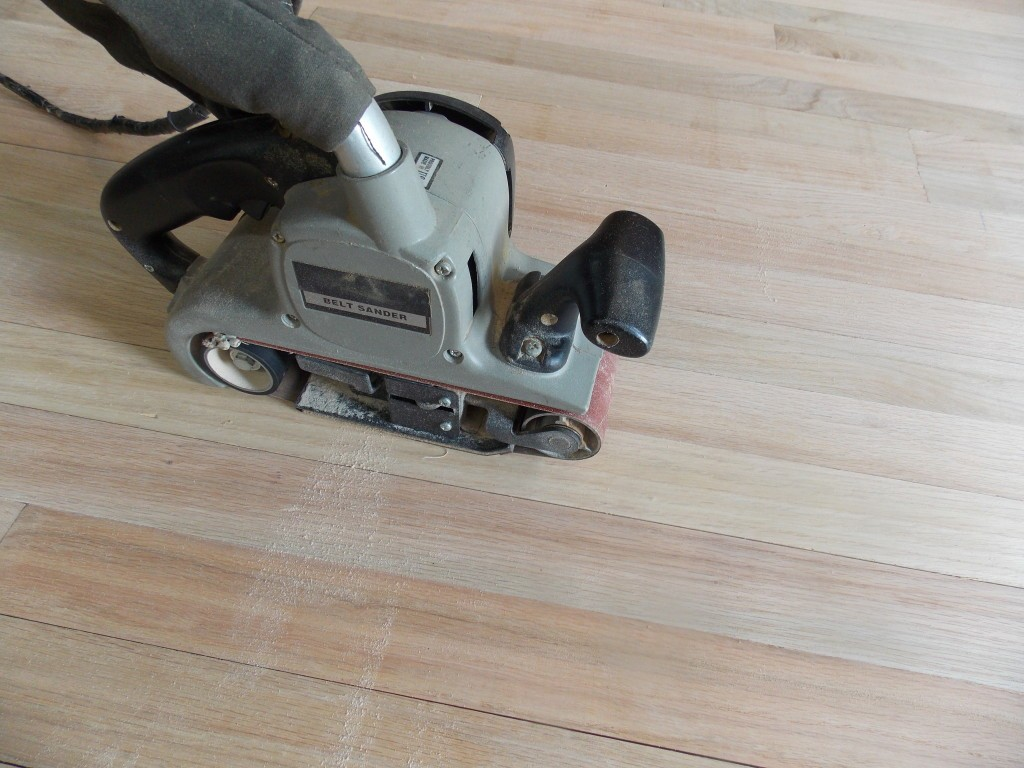 Sand And Refinishing Floors | Family Floors