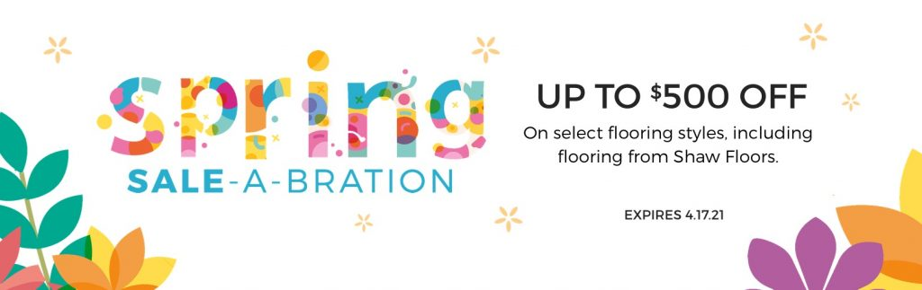 Spring Sale-A-Bration